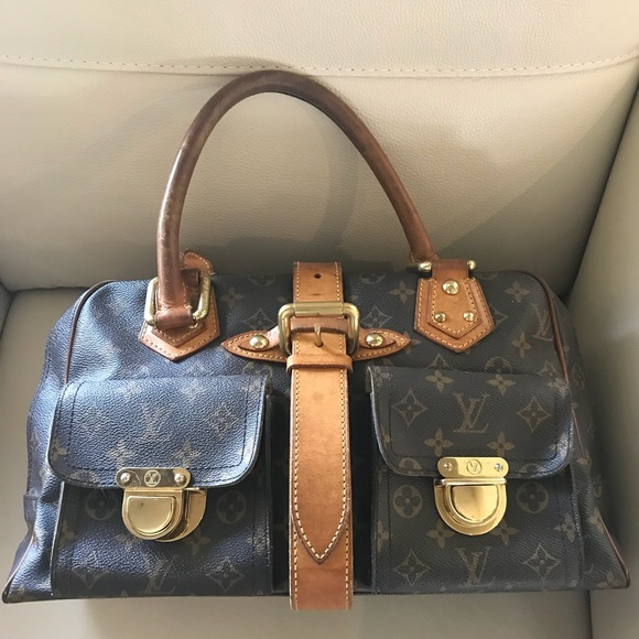 469f0b786 Louis Vuitton Handbags - LV Manhattan GM Monogram Handbag Pockets Buckle